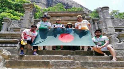 শ্রীলংকার উয়ান পুরাজ্য যুব উৎসবে ড্যাফোডিল শিক্ষার্থীদের যোগদান
