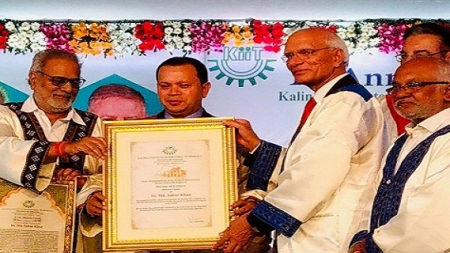 KIIT, India conferred Degree of Doctor of Letters (Honoris Causa) to DIU Chairman