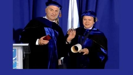 ড্যাফোডিল চেয়ারম্যানের 'সম্মানসূচক ডক্টরেট ডিগ্রি' অর্জন
