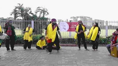 ডেঙ্গু সচেতনতায় ড্যাফোডিল শিক্ষার্থীদের পথনাটক